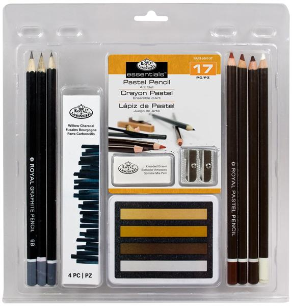 17 SET Pastel Pencil ART Set
