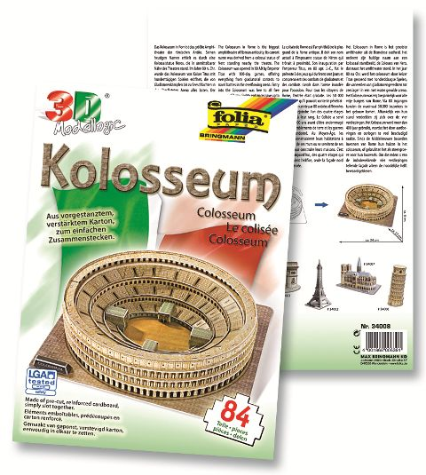 3D-Model Colosseum 84 piese