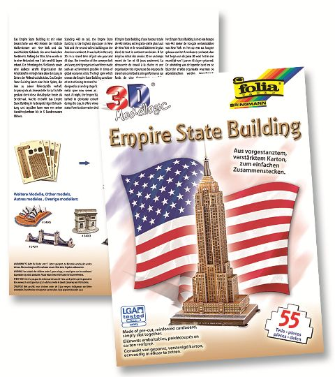 3D-Model Empire State Building 55 piese
