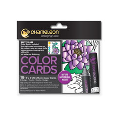 Color card Chameleon Nature - 16 buc
