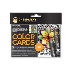 Color card Chameleon Zen - 16 buc