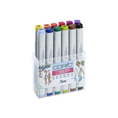 Markeri COPIC Classic Summer Colours - set de 12 buc