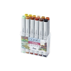 Markeri COPIC Classic Autumn Colours - set de 12 buc