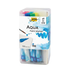 Set markeri acuarelă Aqua Solo Goya Powerpack All-in-one