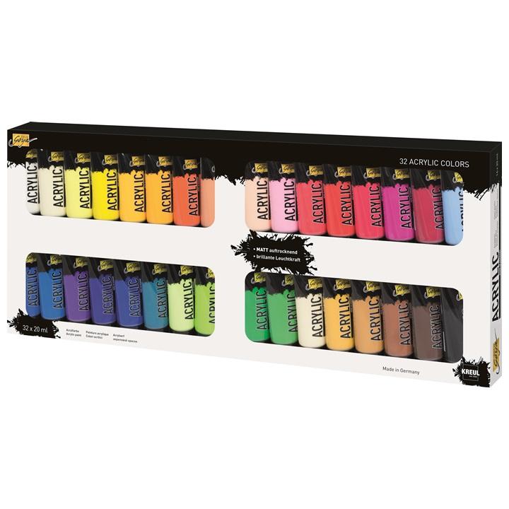 Culori acrilice pentru textile