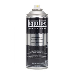 Verniș spray lucios pentru finisaj Liquitex 400 ml