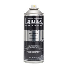 Verniș spray mat pentru finisaj - Liquitex 400 ml