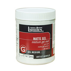Gel medium mat Liquitex 437 ml