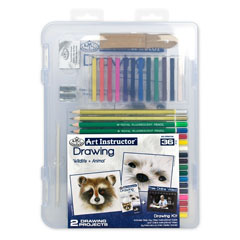 Set pentru desen Art Instructor Drawing Clearview - 36 piese
