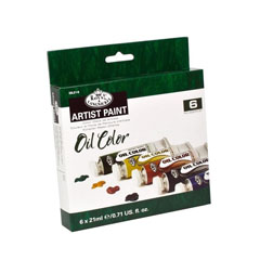 Set culori ulei Royal & Langnickel - 6x21 ml