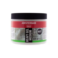 Medium gel mat  020 Amsterdam Heavy - 500 ml