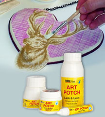 Vernish si adeziv pentru decoupage HOBBY Line ART POTCH Varnish & Glue