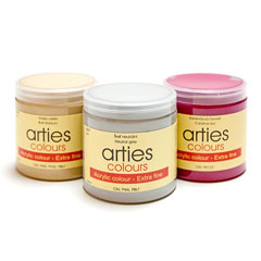 Culori acrilice Arties Colours 250 ml - 45 nuanțe