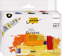 Culori ulei Finest Artists Solo Goya Starter Set 6x20 ml