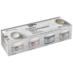 Vopsea Chalk paint Kreul Basic set 4 x 150 ml