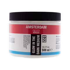 Medium acrilic strălucitor Amsterdam  500ml