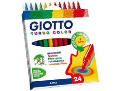 Carioci GIOTTO TURBO COLOR - 24 culori