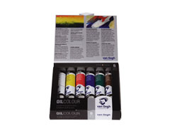 Culoare ulei Van Gogh Start SET 6x20 ml