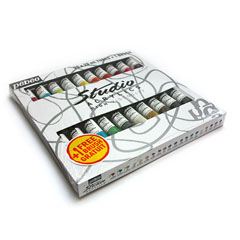 Culori acrilice Studio Acrylic MEDIUM 20x20ml
