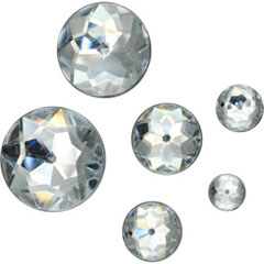 Diamante acrilice 60buc - 12mm