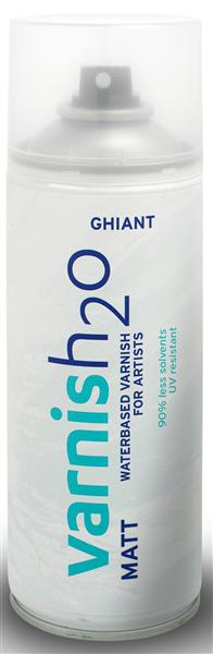 GHIANT H2O lac spray de finisare mat - 400ml