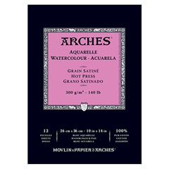 Hârtie bloc ARCHES® Aquarelle Watercolour - 12 coli