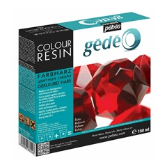 Rasina cristal colorata Pebeo Gedeo 150 ml