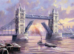 SET creativ pentru pictura - Tower Bridge A3