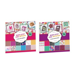 Set creativ pentru scrapbooking Craft Sensations - 24 coli