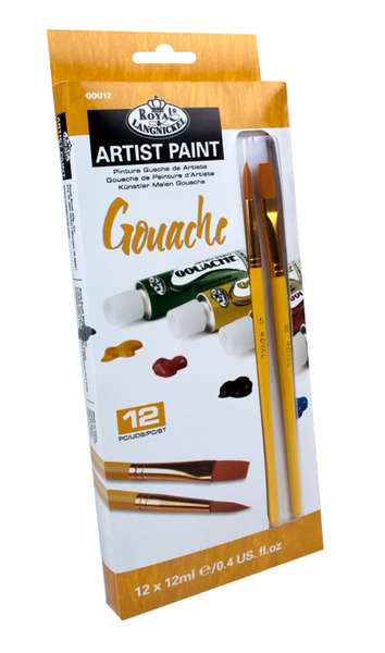 Tempera ARTIST Paint 12x12ml reducere -50%