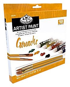 Tempera ARTIST Paint 18x12ml reducere -50%