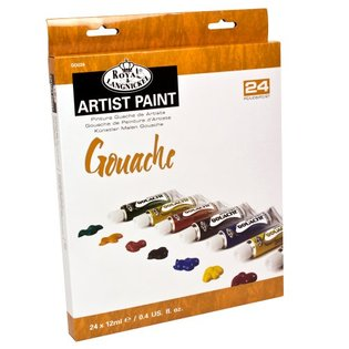 Tempera ARTIST Paint 24x12ml reducere -50%